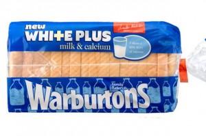 Warburtons bread containing milk and Calcium-768149