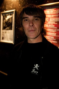 Ian Brown At Aziz Ibrahim's 50th birthday party