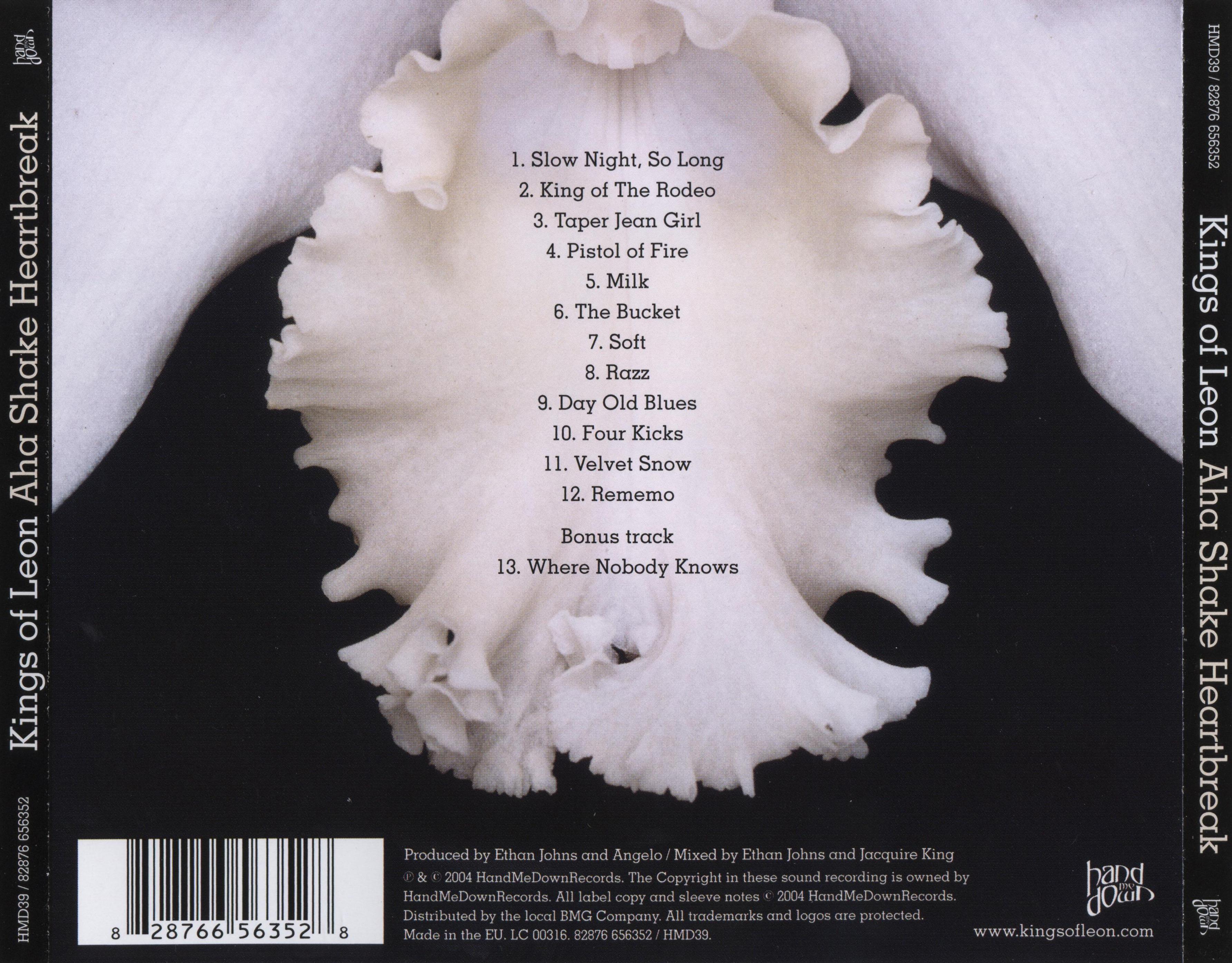 FOR THE RECORD: Kings Of Leon 'Aha Shake Heartbreak'