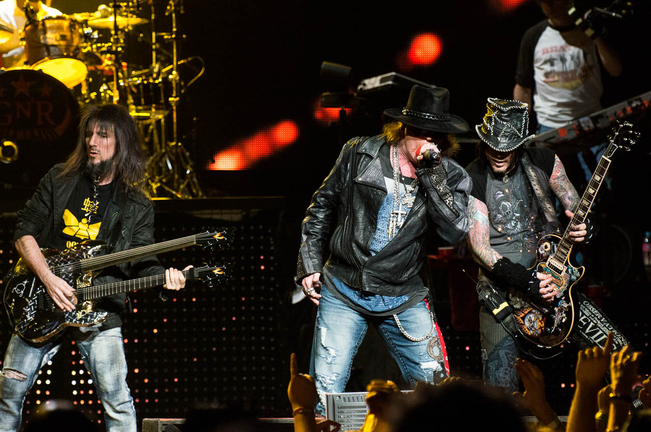 Guns N Roses 2013 Tour Guns N  Roses live at