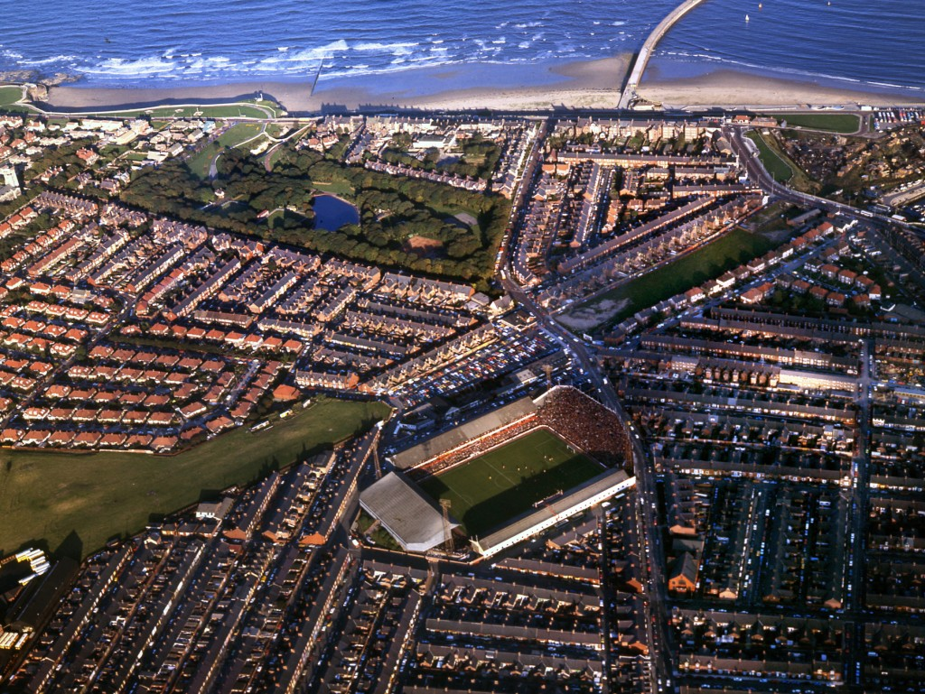 Roker Park Aerial View  1970s  old ref number sport 7 369