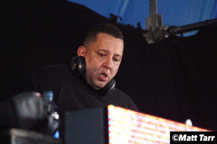 DJ Semtex on the decks