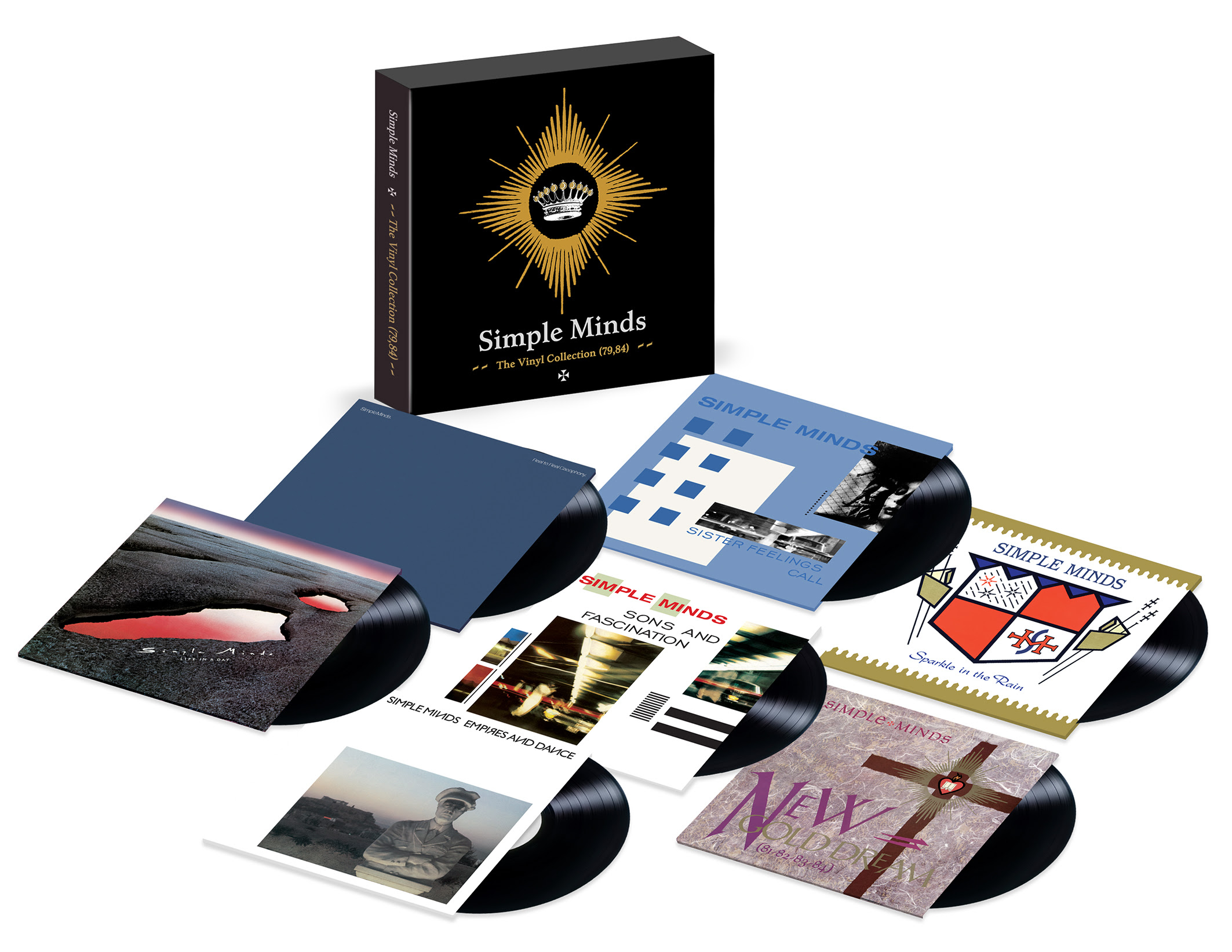 simple minds announce details of the release of the vinyl collection 79 84 gigslutzgigslutz. Black Bedroom Furniture Sets. Home Design Ideas