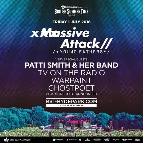 Massive Attack Announce