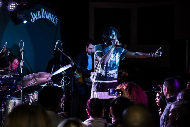 Jack Daniel's hosted a one-off Jack Rocks gig last night at Nambucca, London, fronted by Wretch 32 and musicians from Nashville, Tennessee. They created a live mash up of UK hip hop and the Nashville sound.