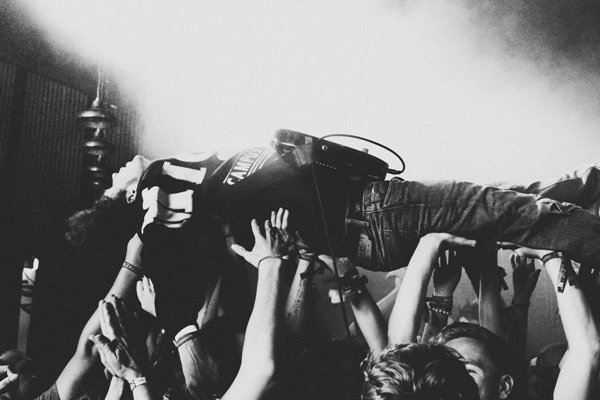 22. Lukes crowd surfing addiction continues.