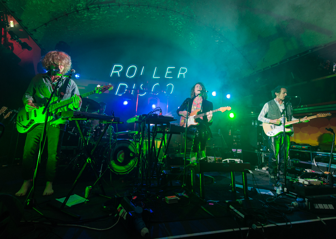 Mystery Jets - Roller Disco stage - Jon Mo