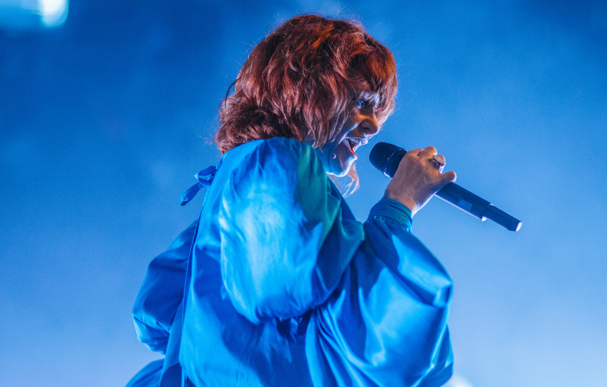Goldfrapp at Nozstock 2018 - credit Chloe Knott