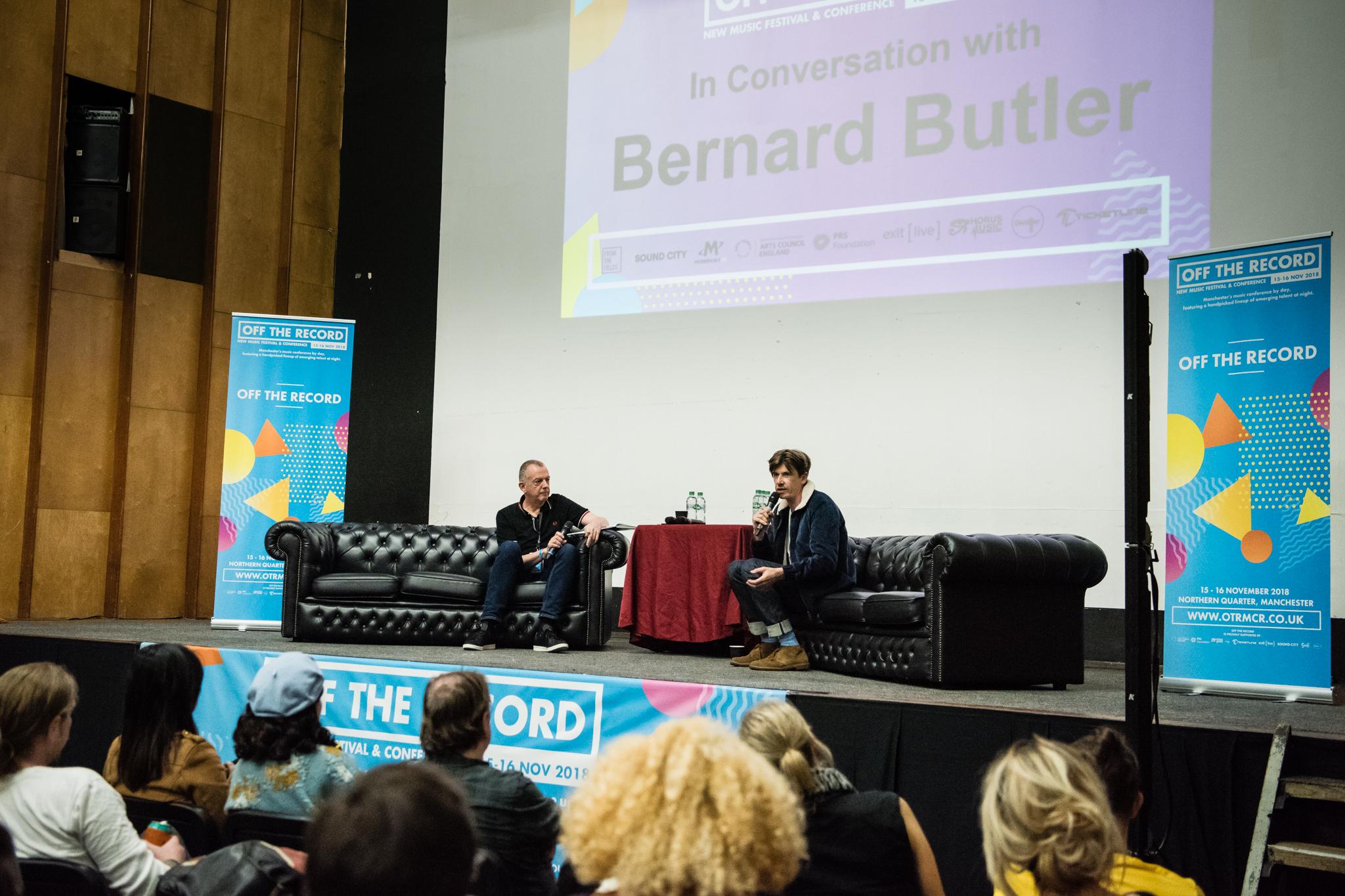 02 Bernard Butler Interview - OTR 2018 - Jon Mo