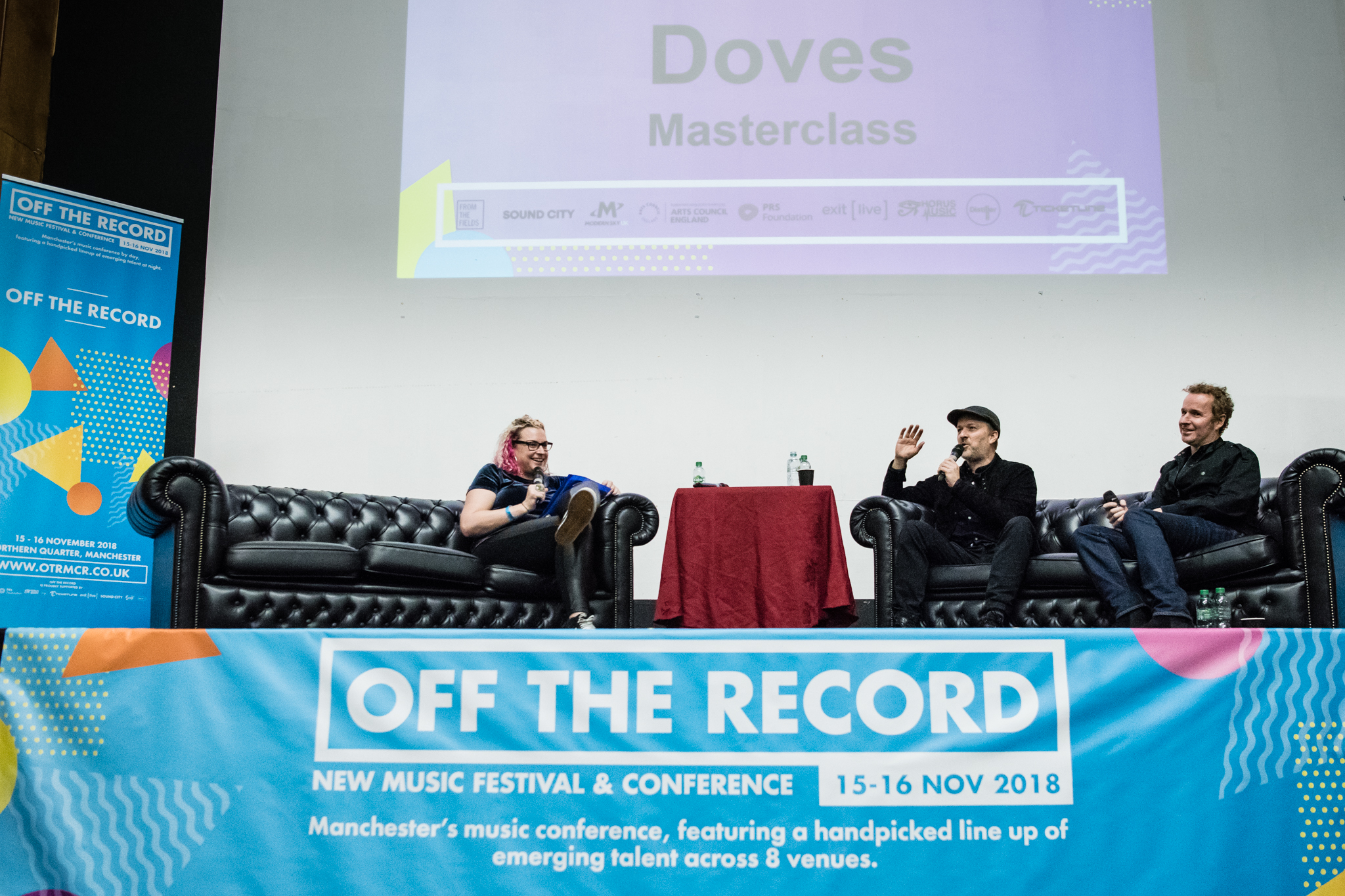 03 Doves Interview - OTR 2018 - Jon Mo