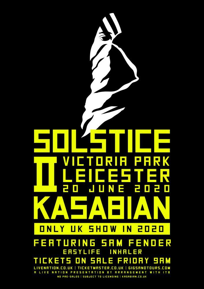 NEWS: Kasabian announce massive hometown show