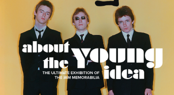 NEWS: THE JAM 'About the Young Idea' - The Ultimate Exhibition