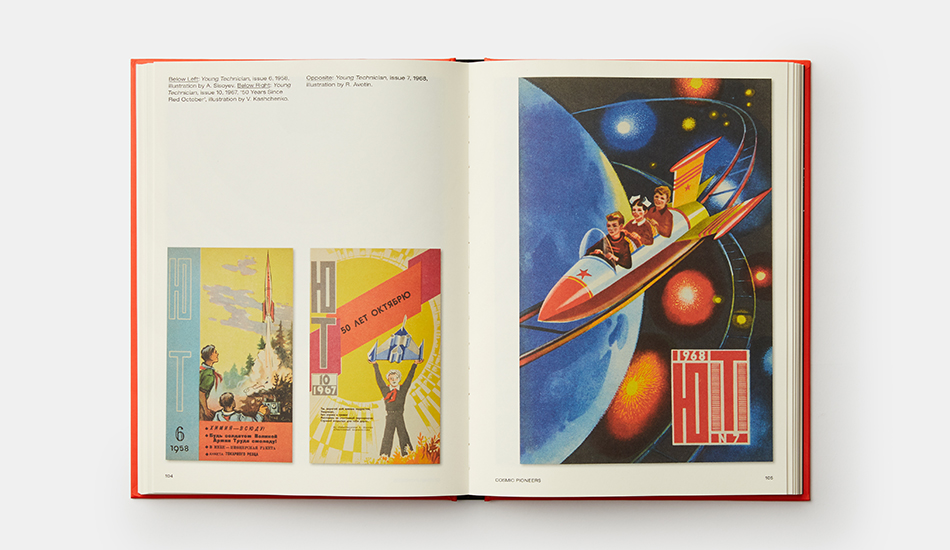 BOOK REVIEW: Soviet Space Graphics – Cosmic Visions from the USSR