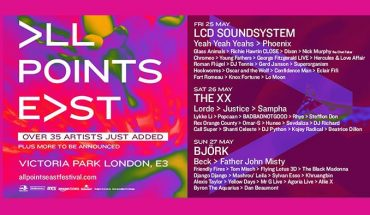 All Points East poster
