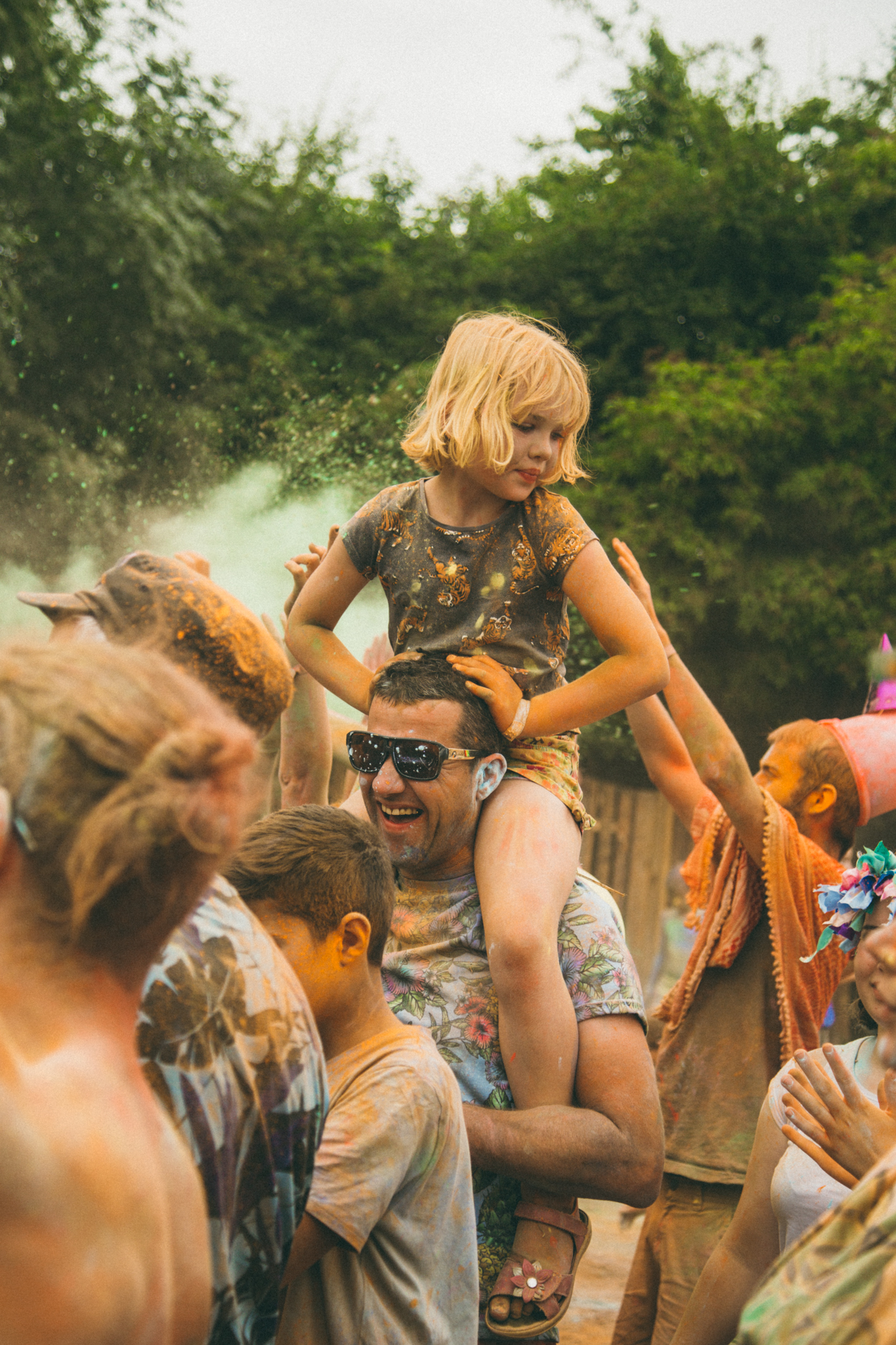 Dusty fun at Nozstock - credit Charlie Rimmer