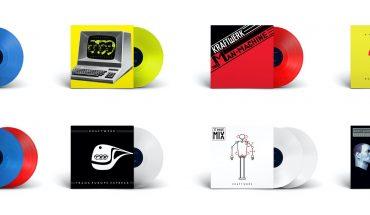 KRAFTWERK released new coloured vinyl reissues